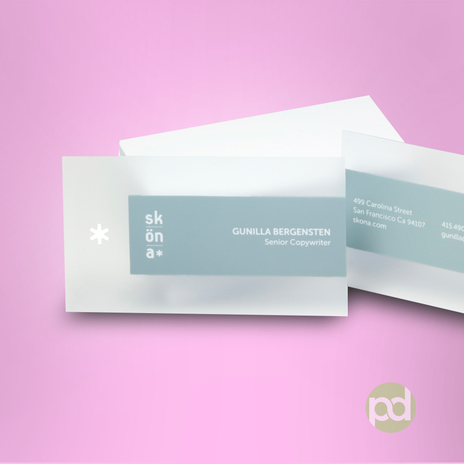 Plastic Business Cards - Print Dallas